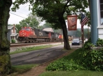 CN 2638 has K-121 passing my house at mp294 on the  CSX Pittsurgh sub
